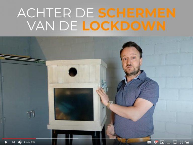 Achter de schermen van de lockdown
