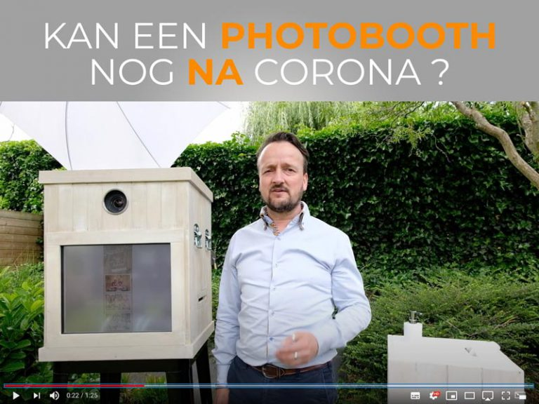 Kan een photobooth nog na corona?