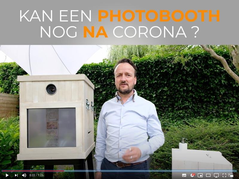 Photobooth na corona