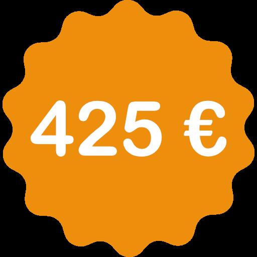 425 €
